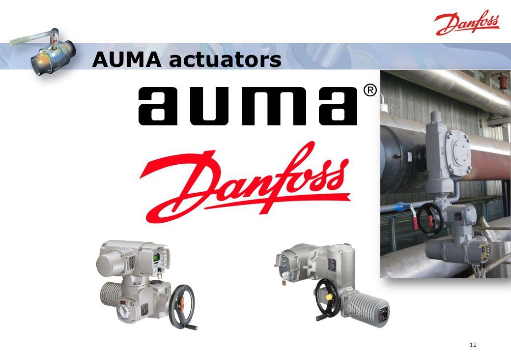 AUMA actuators 12
