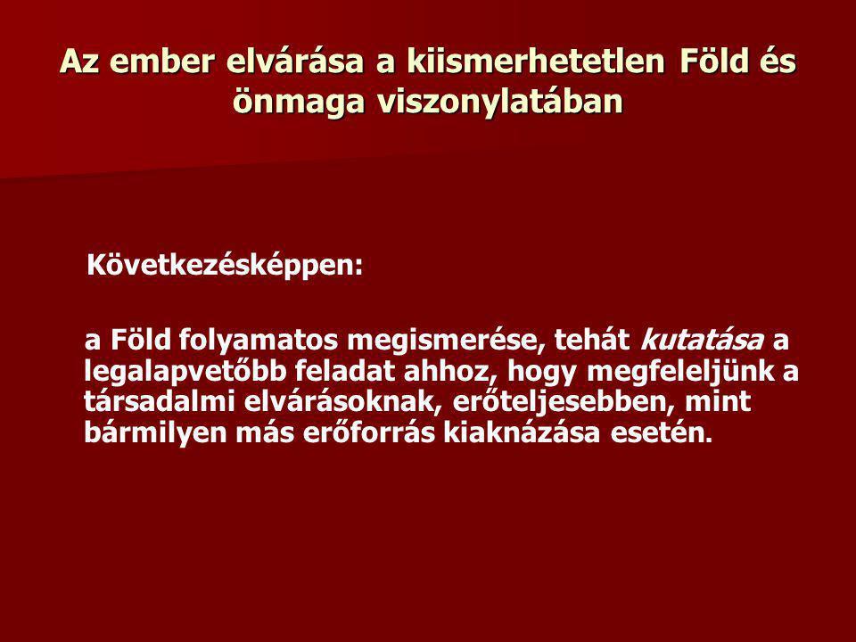 Magyar Bányászati és Földtani Hivatal Magyar Állami Földtani Intézet Magyar Állami Eötvös Loránd Geofizikai Intézet