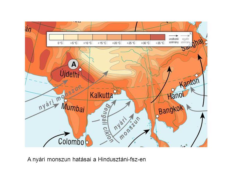 Téli monszun a Hindusztáni fsz-en