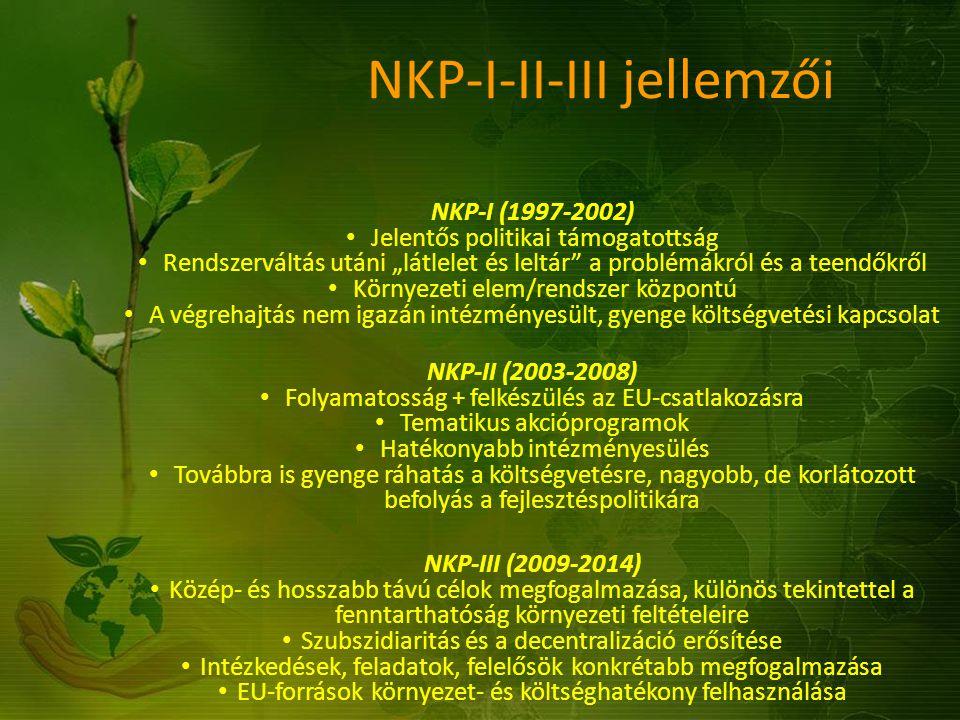 """NKP-I-II-III jellemzői NKP-I (1997-2002) Jelentős politikai támogatottság Rendszerváltás utáni """"látlelet és leltár"""" a problémákról és a teendőkről Kör"""
