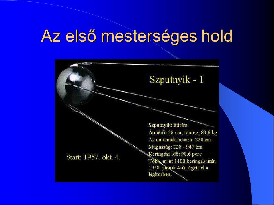 Az első mesterséges hold