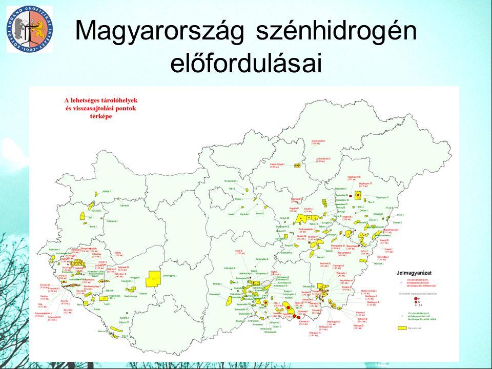Magyarország szénhidrogén előfordulásai