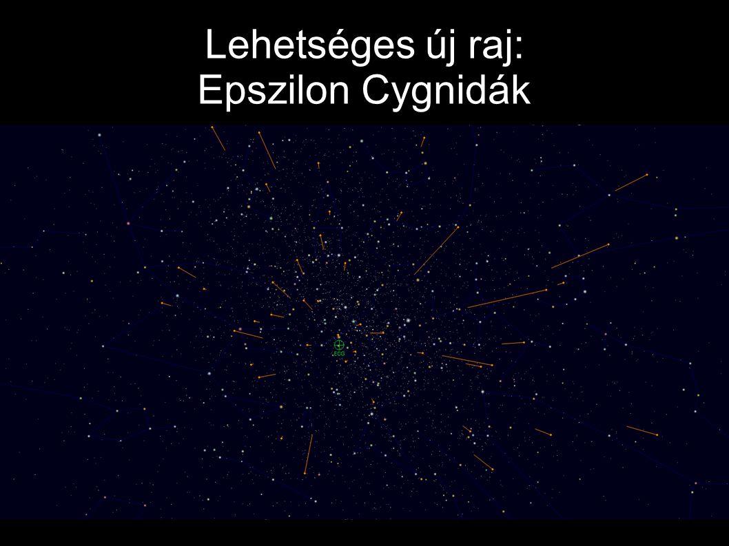 Lehetséges új raj: Epszilon Cygnidák