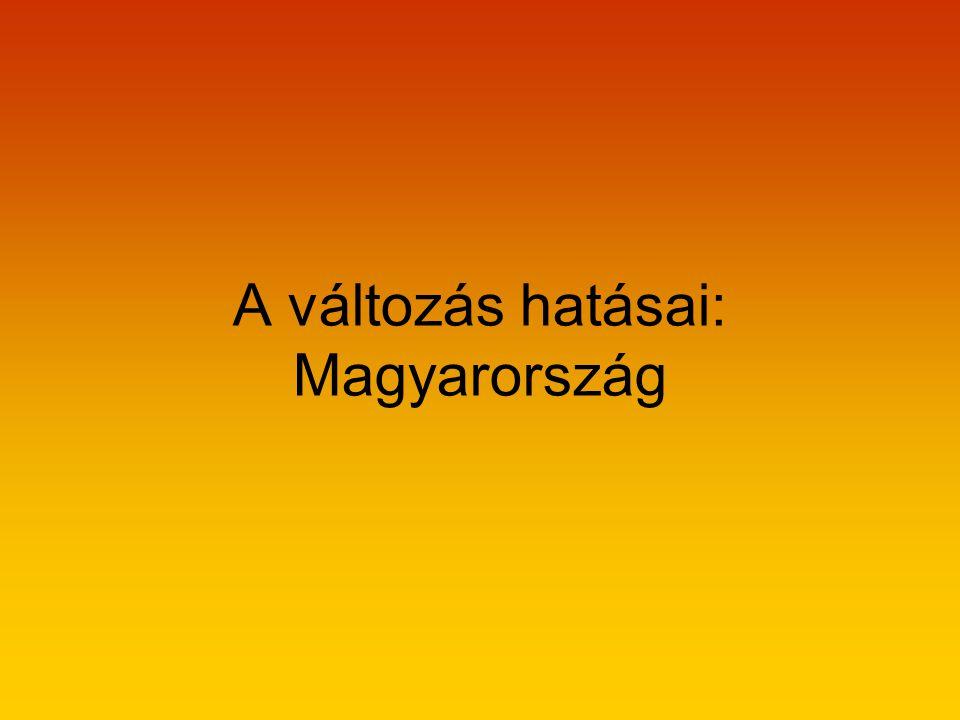 A változás hatásai: Magyarország