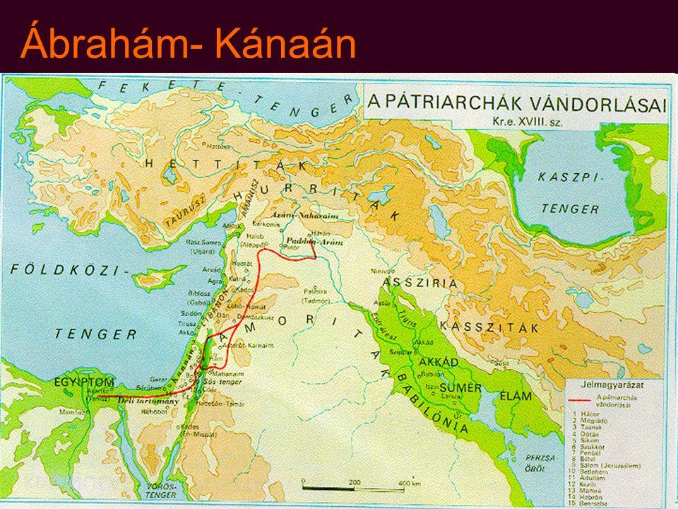 Ábrahám- Kánaán