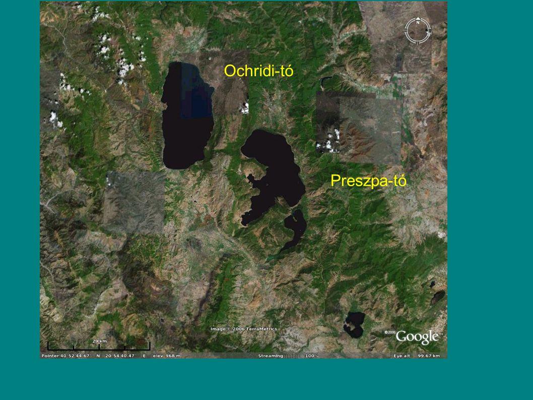 Ochridi-tó Preszpa-tó
