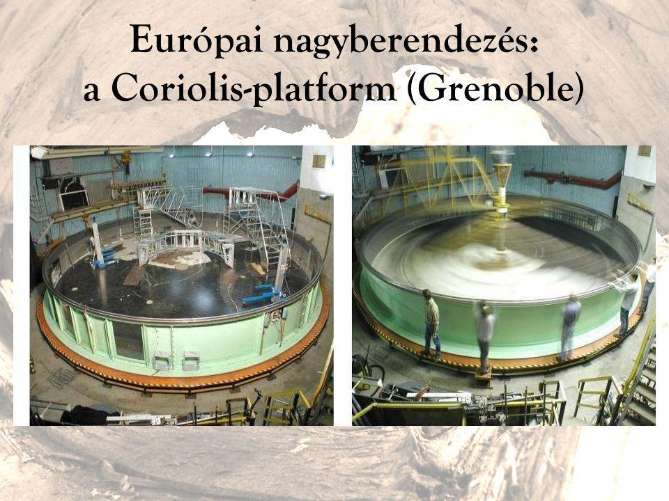 Európai nagyberendezés: a Coriolis-platform (Grenoble)