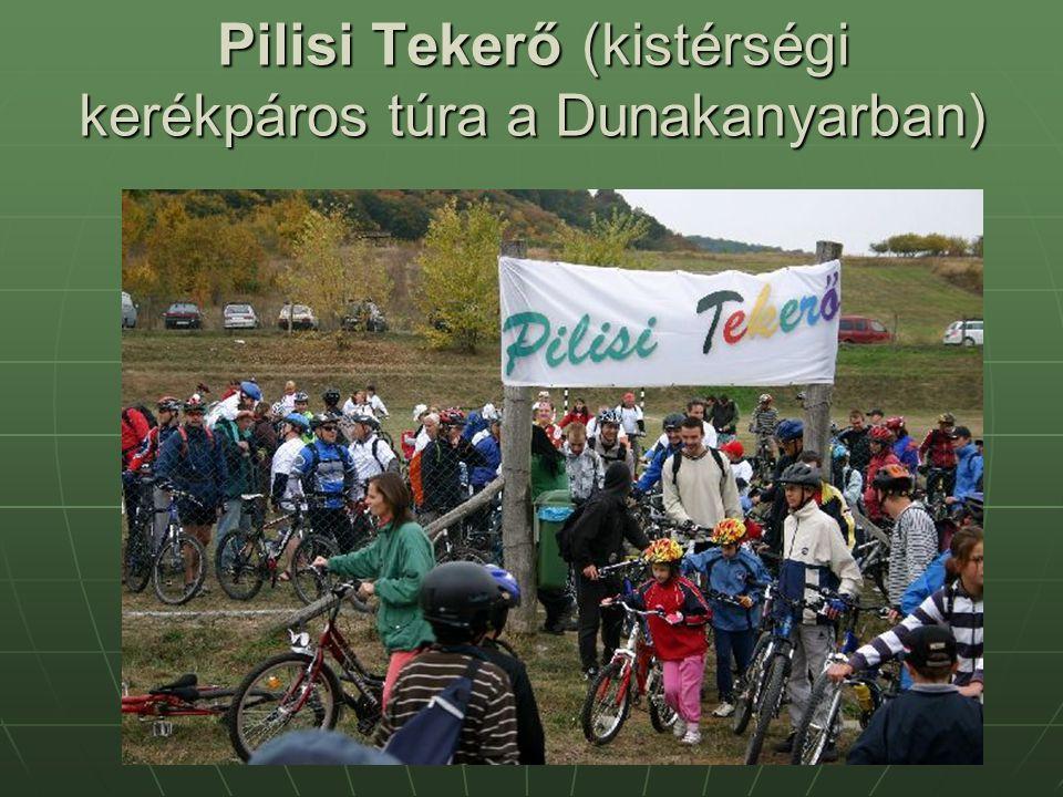 Pilisi Tekerő (kistérségi kerékpáros túra a Dunakanyarban)