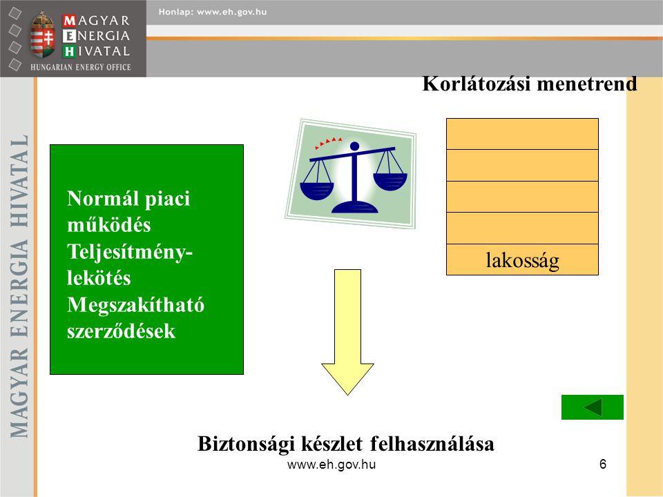 www.eh.gov.hu7 Átmeneti időszakban 2009.