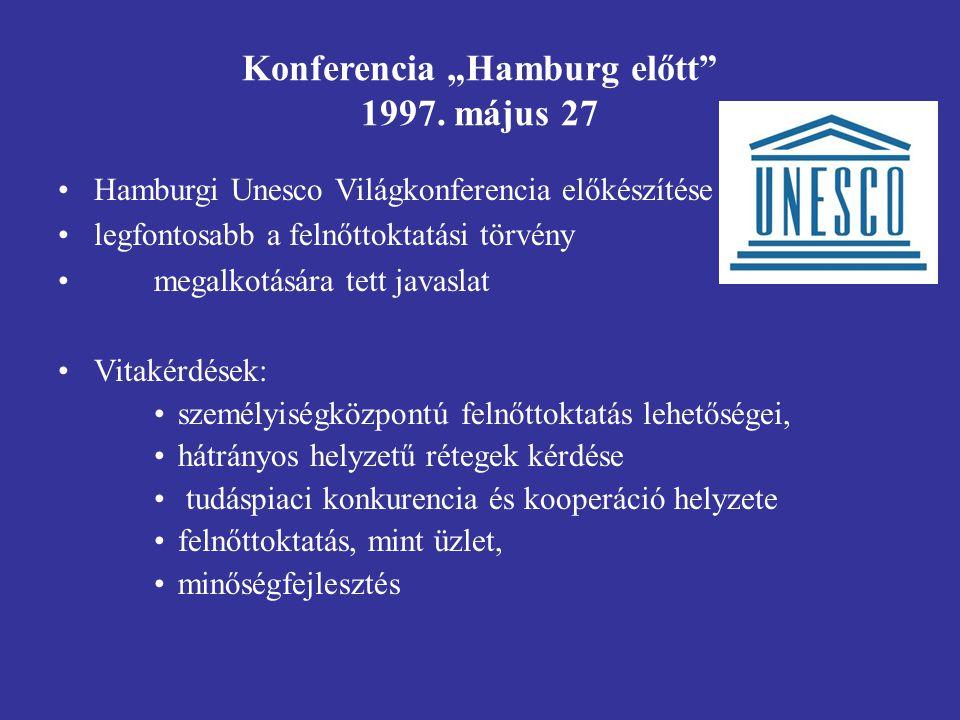 """Konferencia """"Hamburg előtt 1997."""