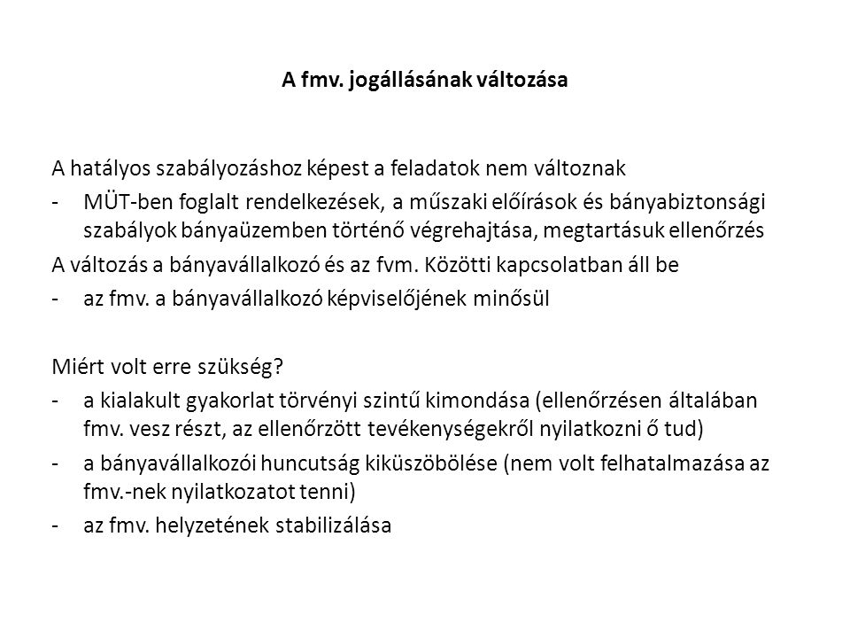 Az fmv.-vel szemben alkalmazható jogkövetkezmények Bt.
