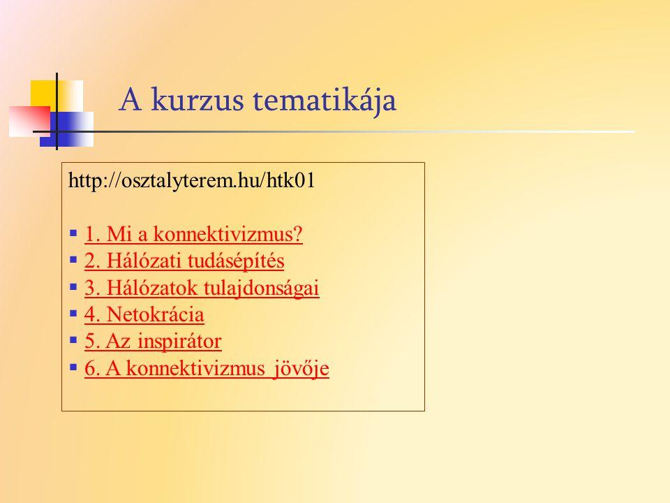 További irodalom Barabási Albert László: Behálózva L.