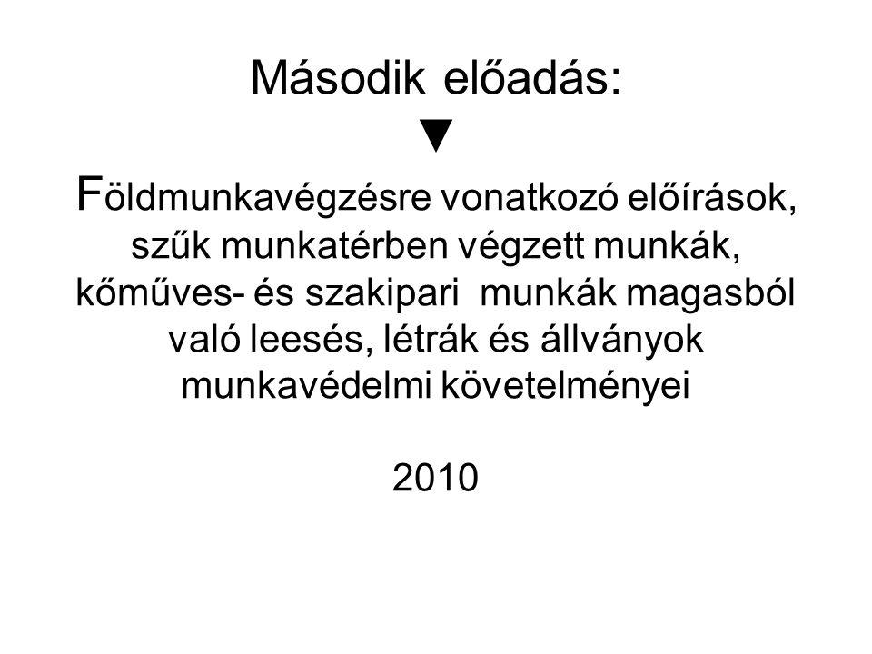 Témakört érintő legfontosabb előírások 1993.évi XCIII.