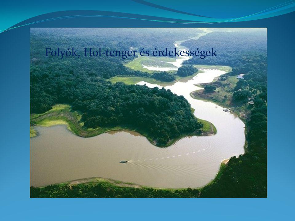 Folyók A folyók a Föld felületére ható legfontosabb geológiai tényezők közé tartoznak.