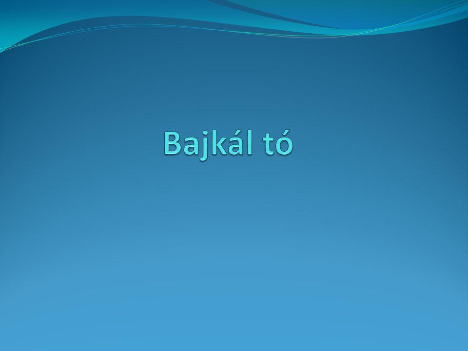 A Bajkál tó igen különleges módon alakult ki.
