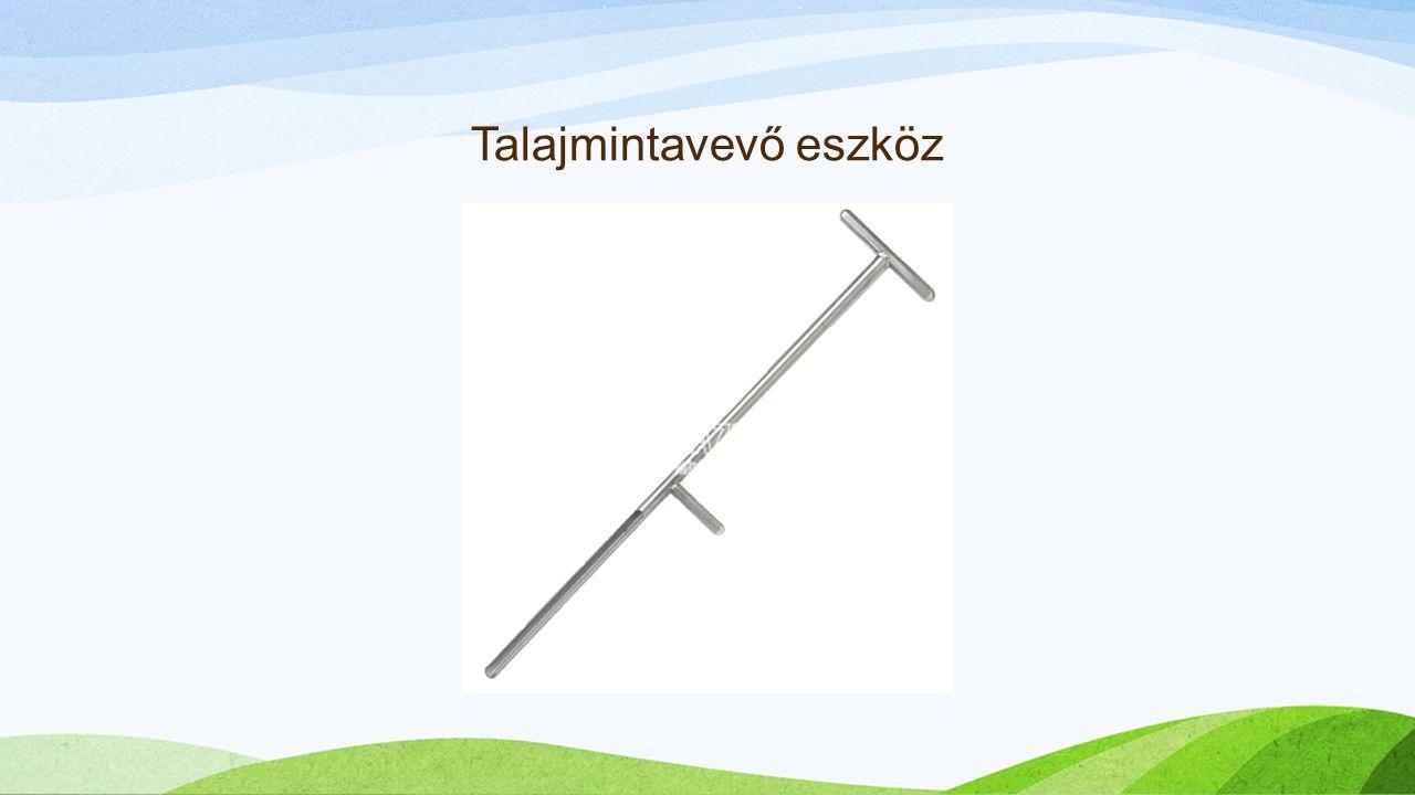 Talajmintavevő eszköz