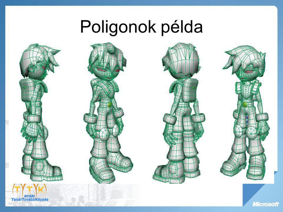 Poligonok példa