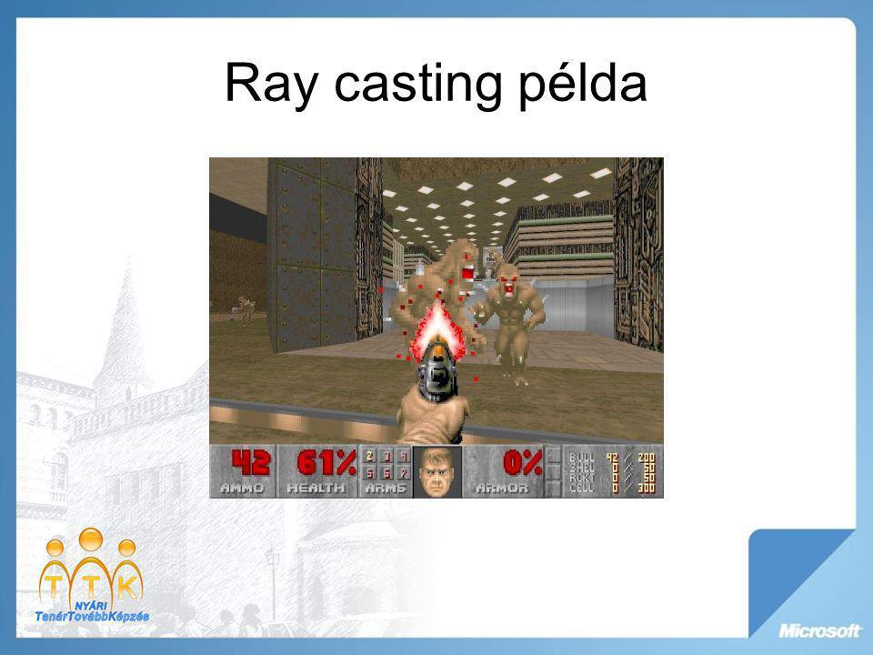 Ray casting példa