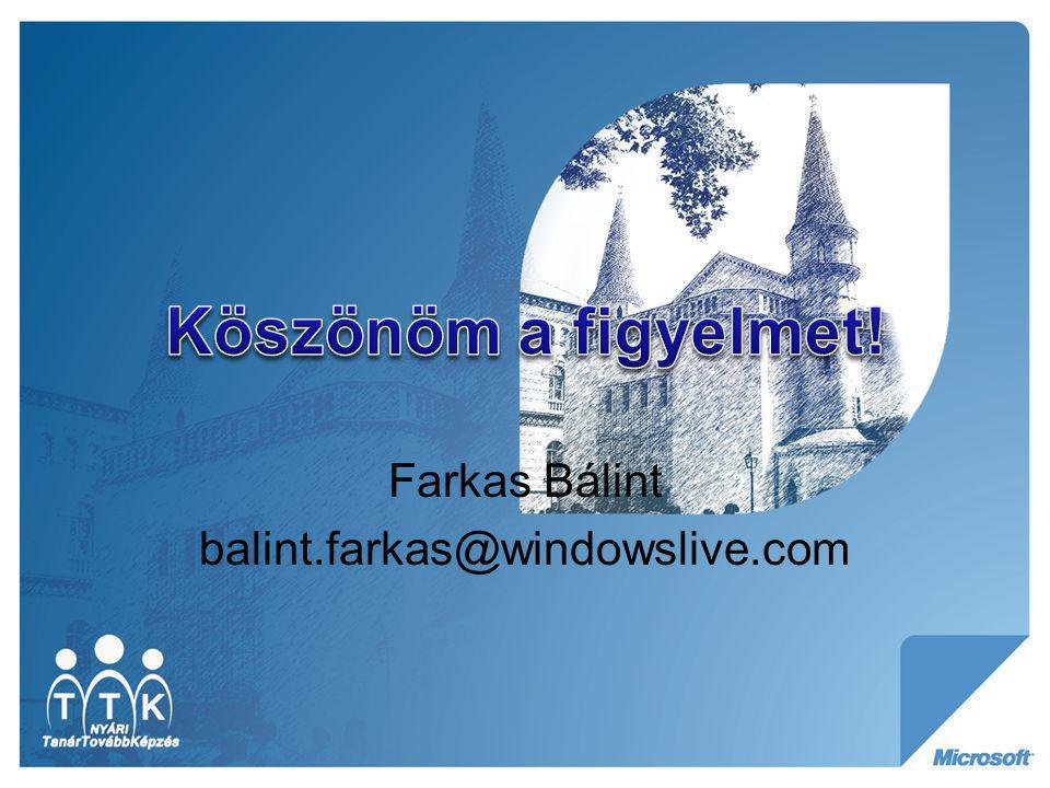 Farkas Bálint balint.farkas@windowslive.com