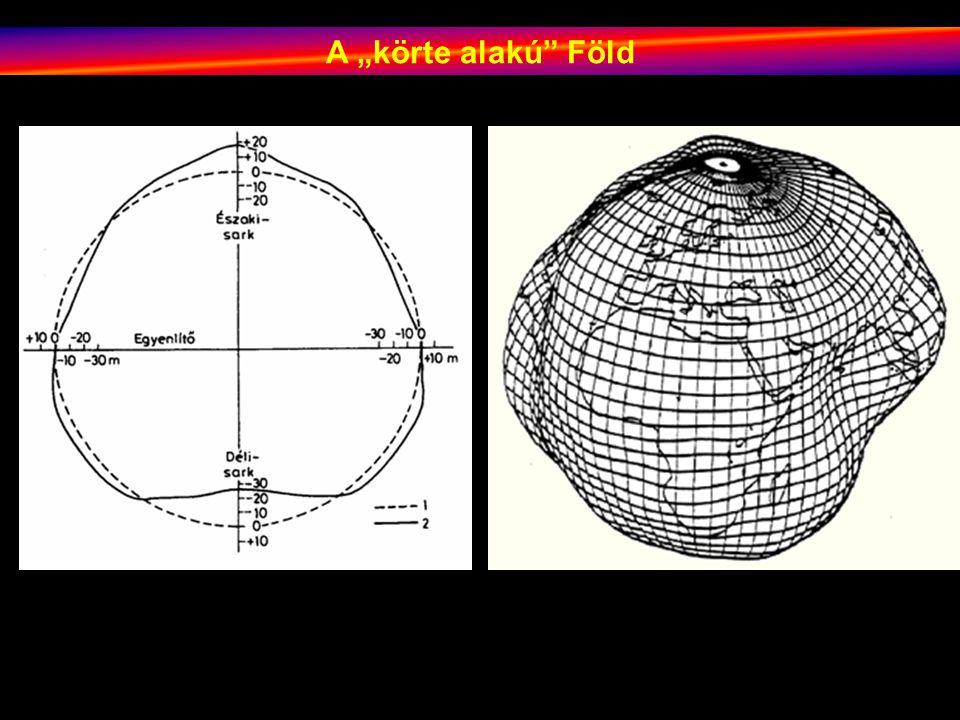 """A """"körte alakú Föld"""
