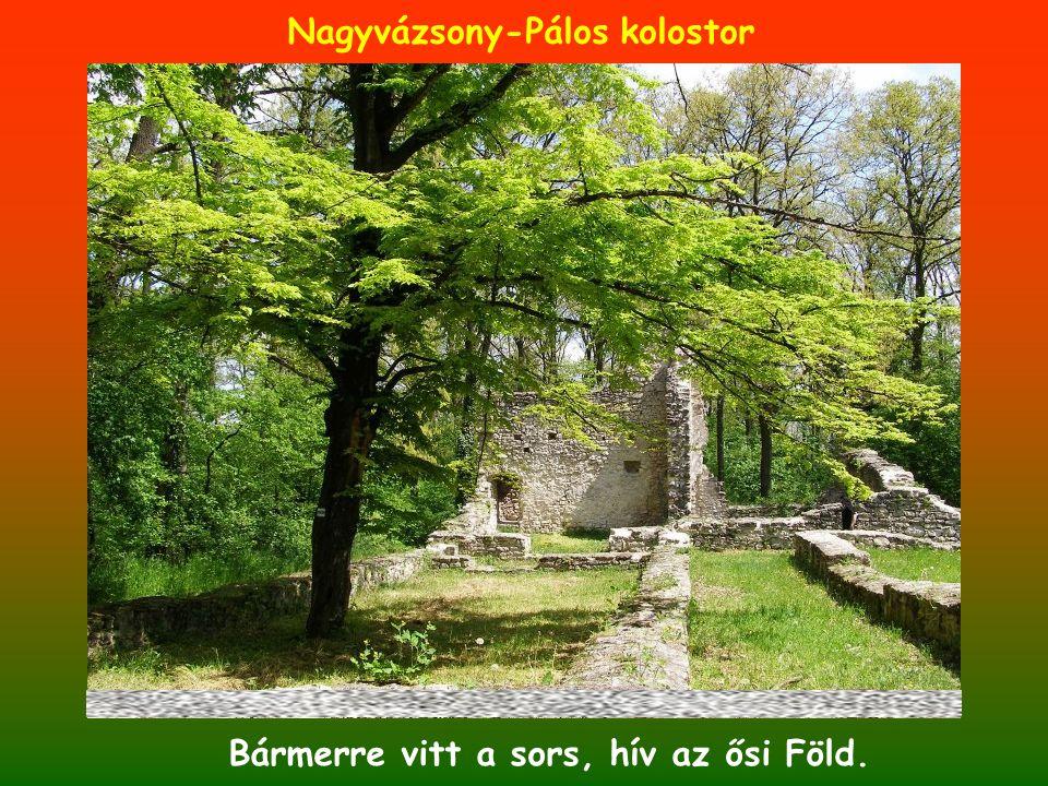 Bármerre vitt a sors, hív az ősi Föld. Nagyvázsony-Pálos kolostor