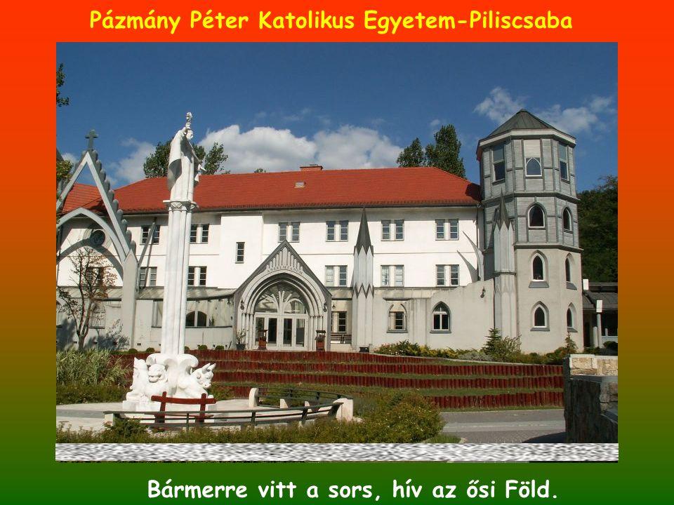 Bármerre vitt a sors, hív az ősi Föld. Pázmány Péter Katolikus Egyetem-Piliscsaba