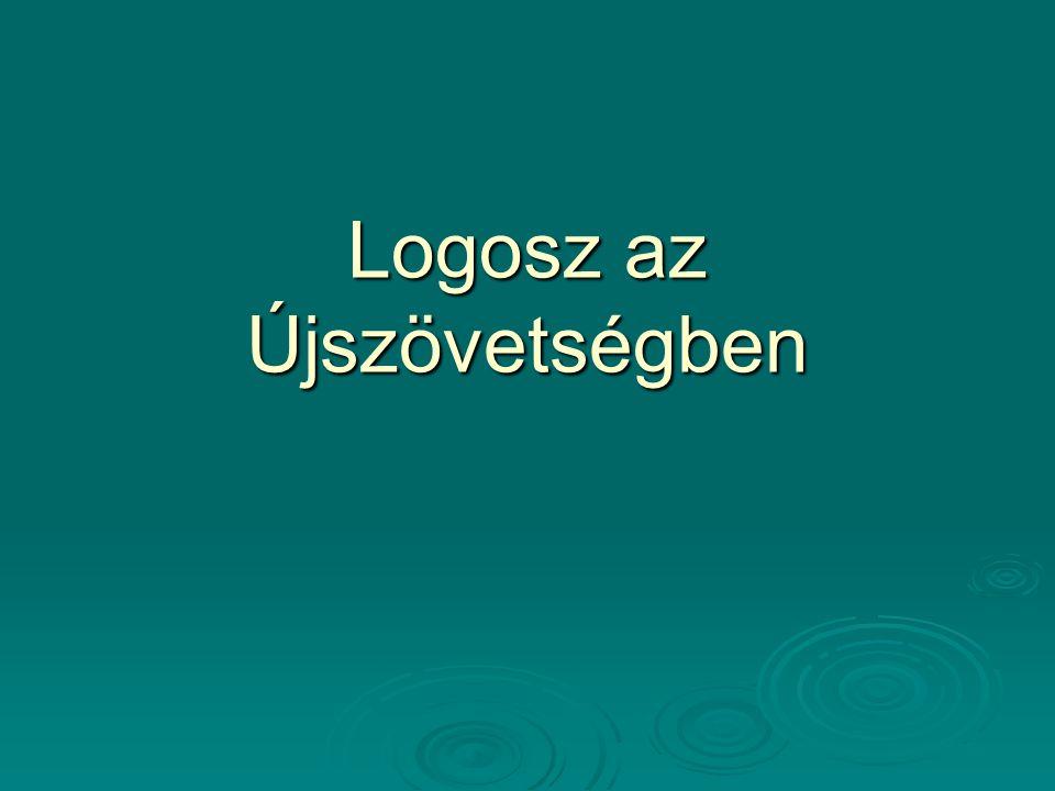 Logosz az Újszövetségben