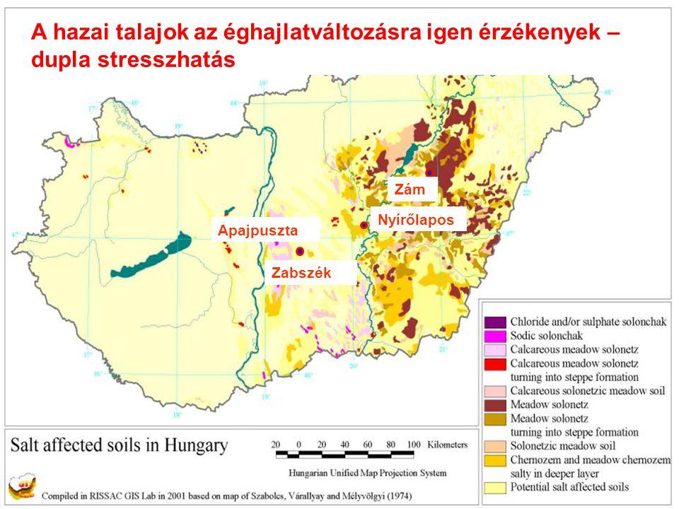 Zám Zabszék Nyírőlapos Apajpuszta A hazai talajok az éghajlatváltozásra igen érzékenyek – dupla stresszhatás