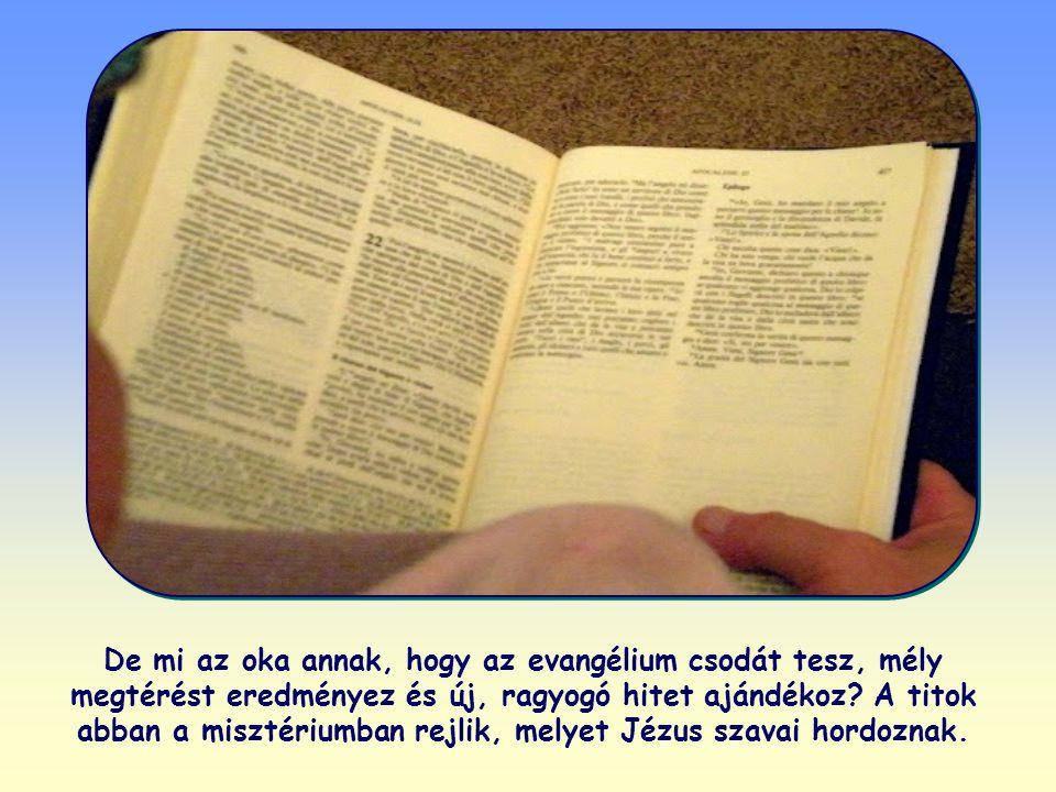 Ha befogadjuk és éljük Isten igéjét, az teljes szemléletváltáshoz, megtéréshez vezet. Az ige Krisztus érzésvilágát ülteti át a szívbe, így európaiak,