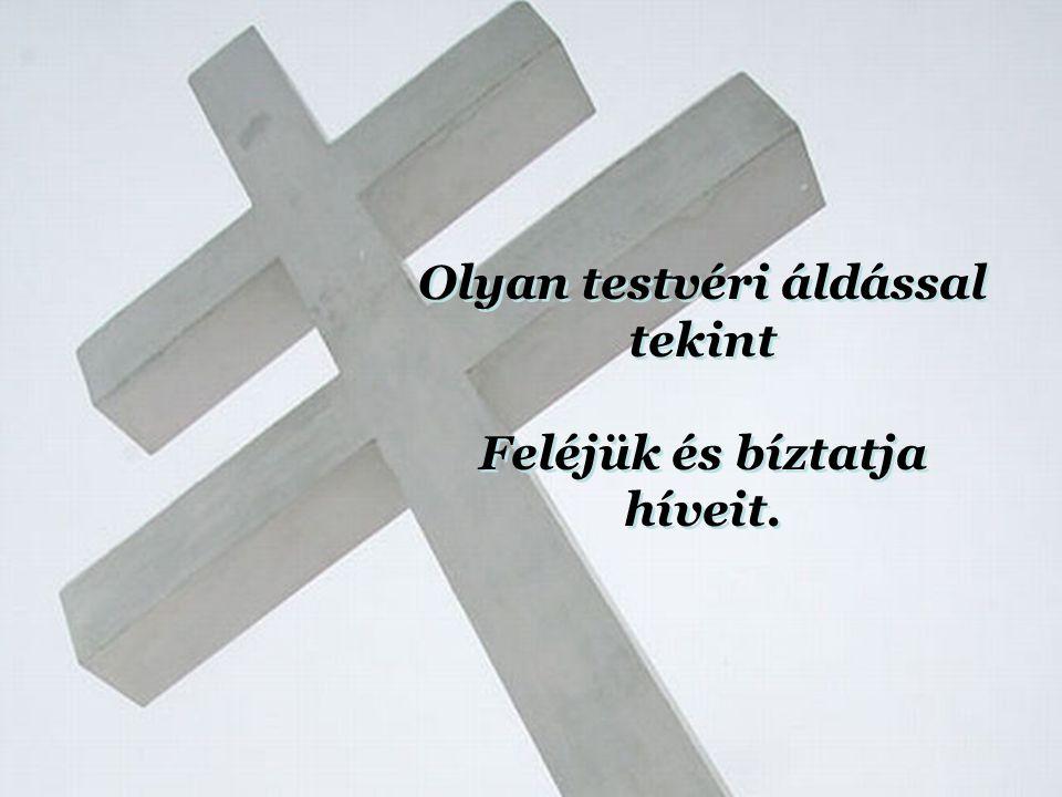 A magyar Krisztus, a falusi szent Hiszen neki is megváltást izent, A magyar Krisztus, a falusi szent Hiszen neki is megváltást izent,