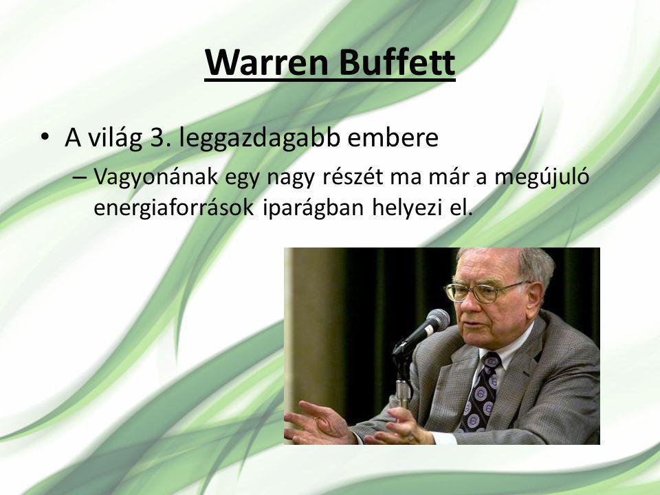 Warren Buffett A világ 3.