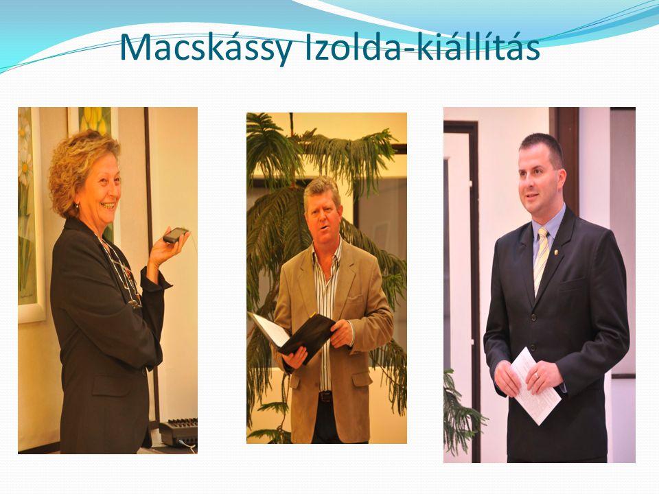 Macskássy Izolda-kiállítás