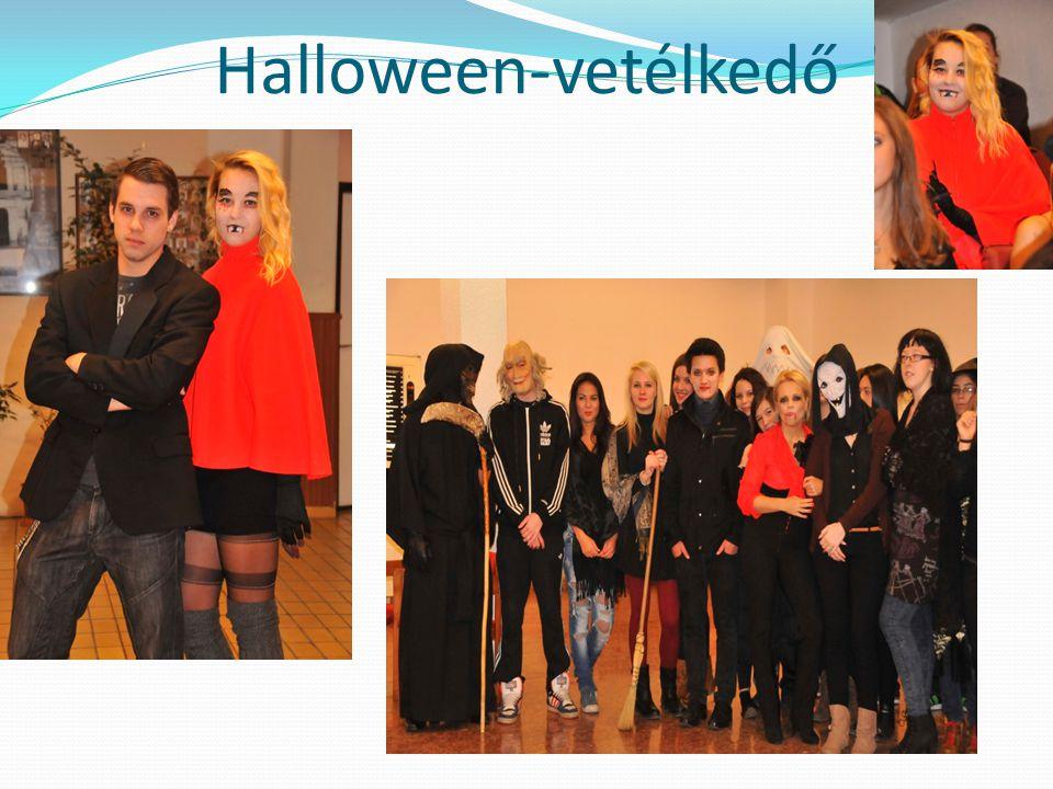 Halloween-vetélkedő