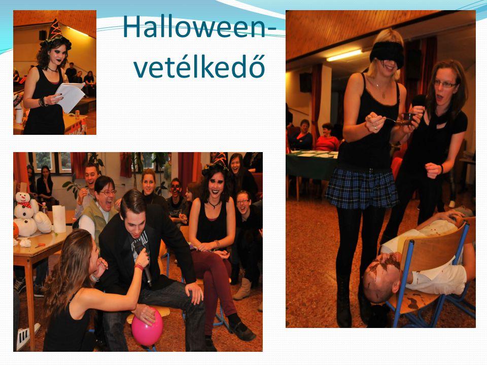 Halloween- vetélkedő