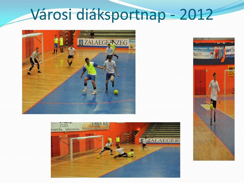 Városi diáksportnap - 2012