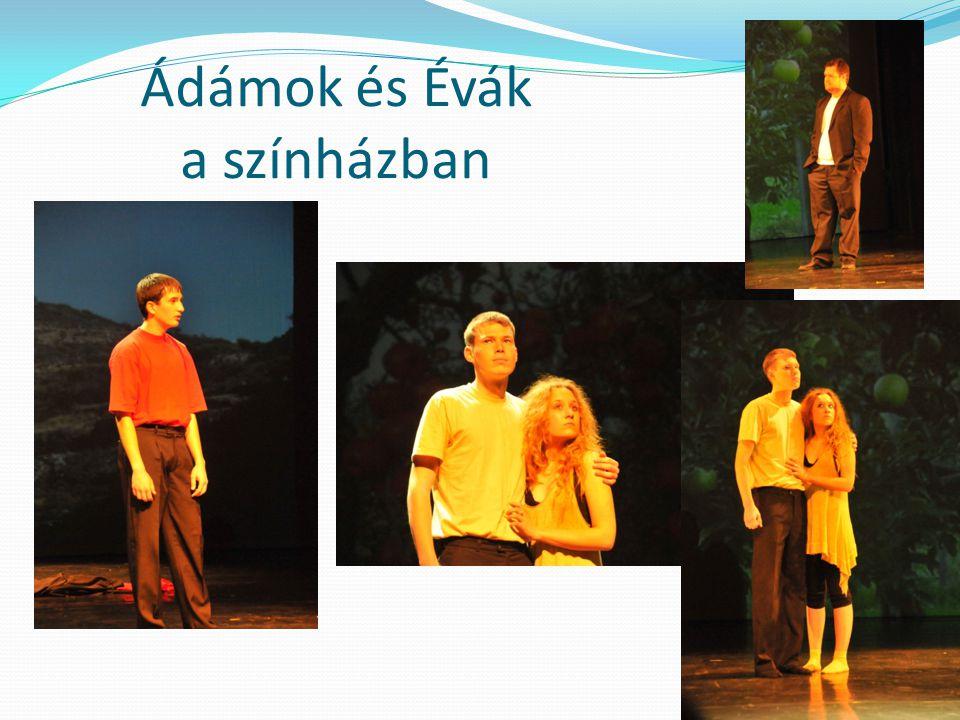 Ádámok és Évák a színházban