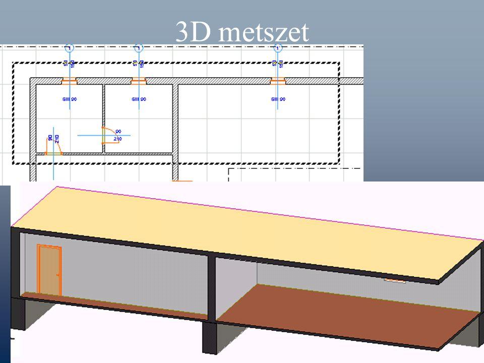 3D metszet