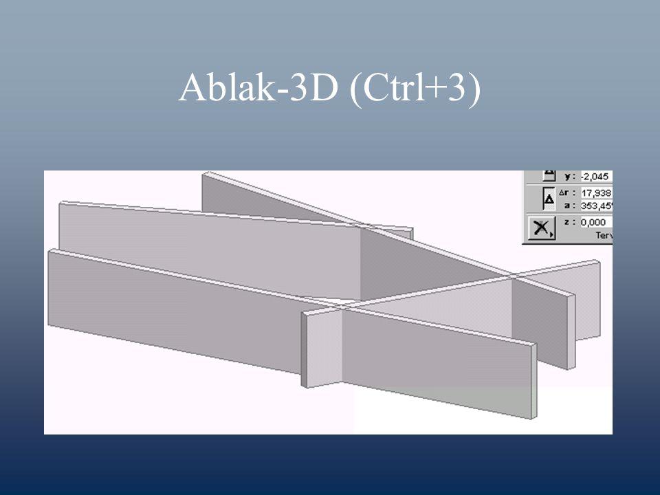 Ablak-3D (Ctrl+3)