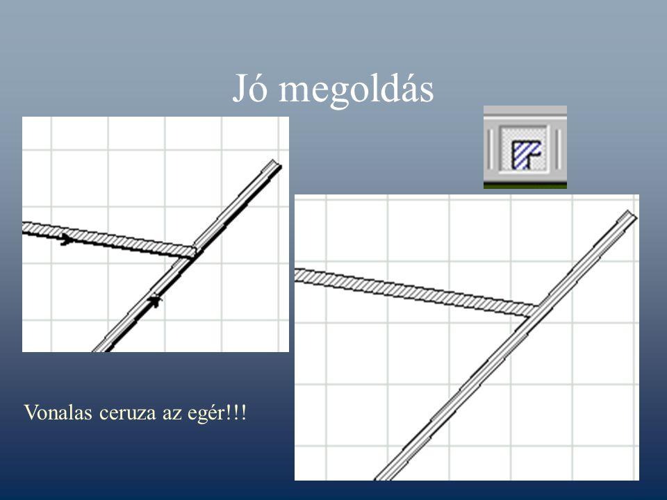 Jó megoldás Vonalas ceruza az egér!!!