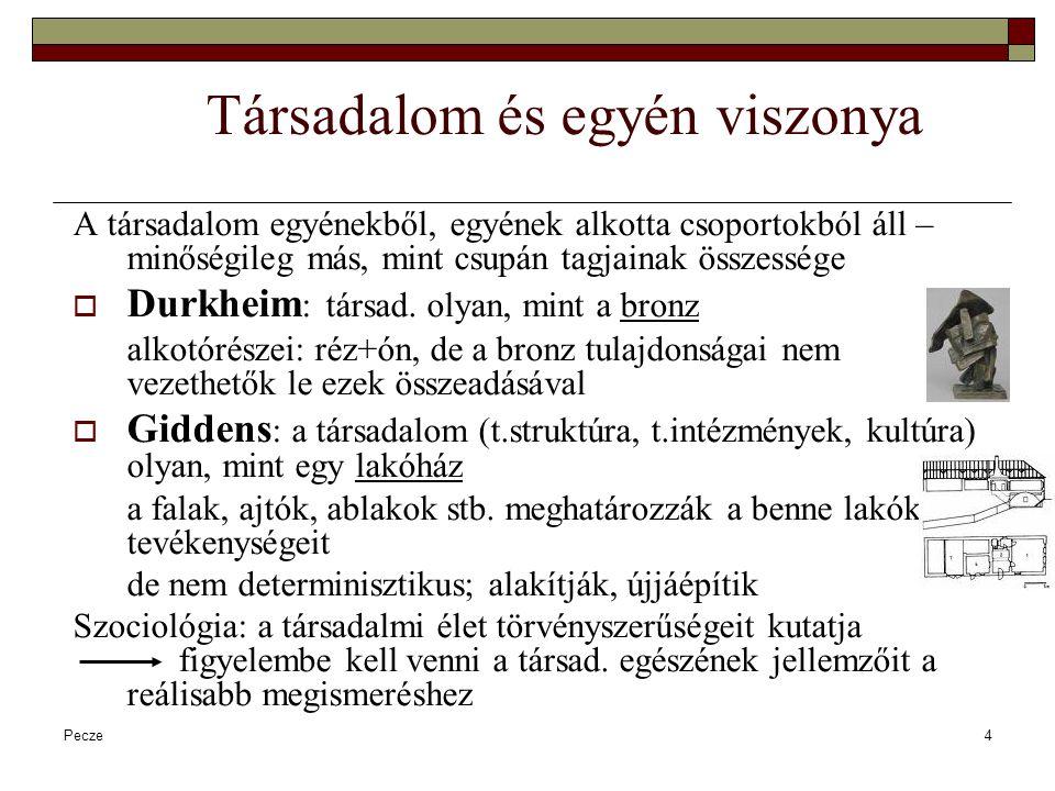 Pecze5 A társadalomtudományok történeti kialakulása A társadalmiság óta mindig is jelen volt a társadalomról való gondolkodás is (Platón, Arisztotelész)  Írásbeliség megjelenésétől: történetírás  A többi társ.tud a filozófiából vált le: Demográfia (XVII.