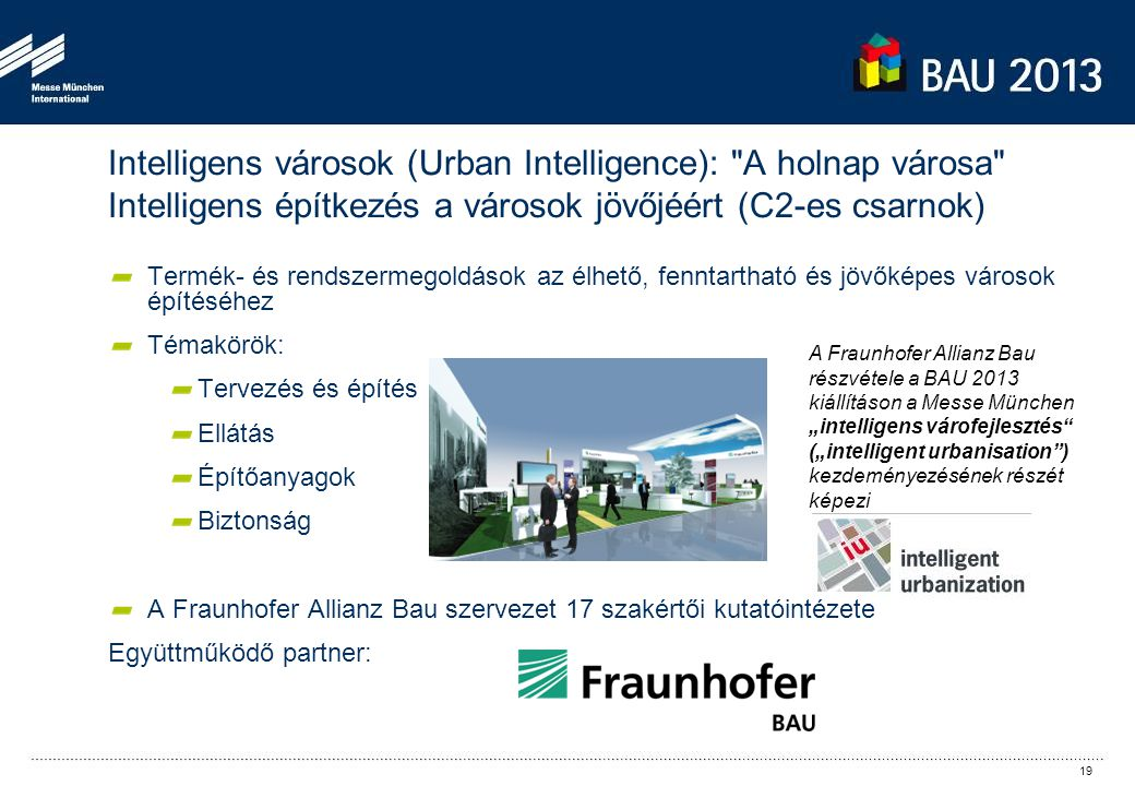 Intelligens városok (Urban Intelligence):