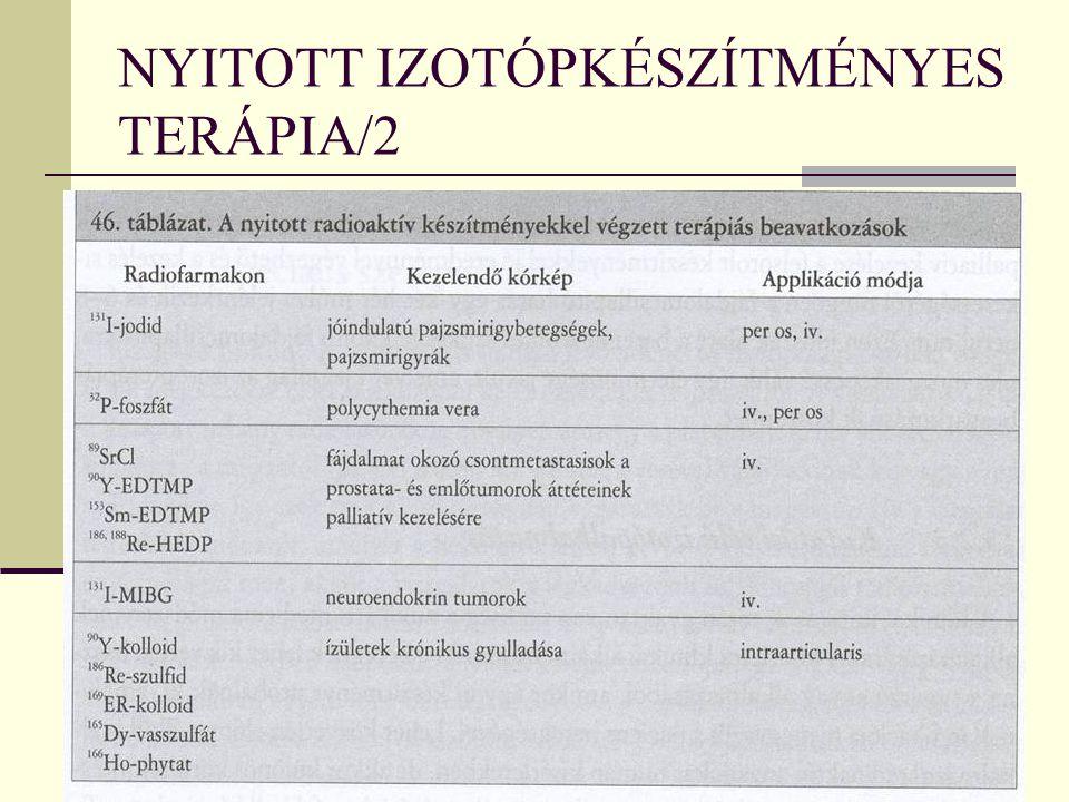NYITOTT IZOTÓPKÉSZÍTMÉNYES TERÁPIA/2