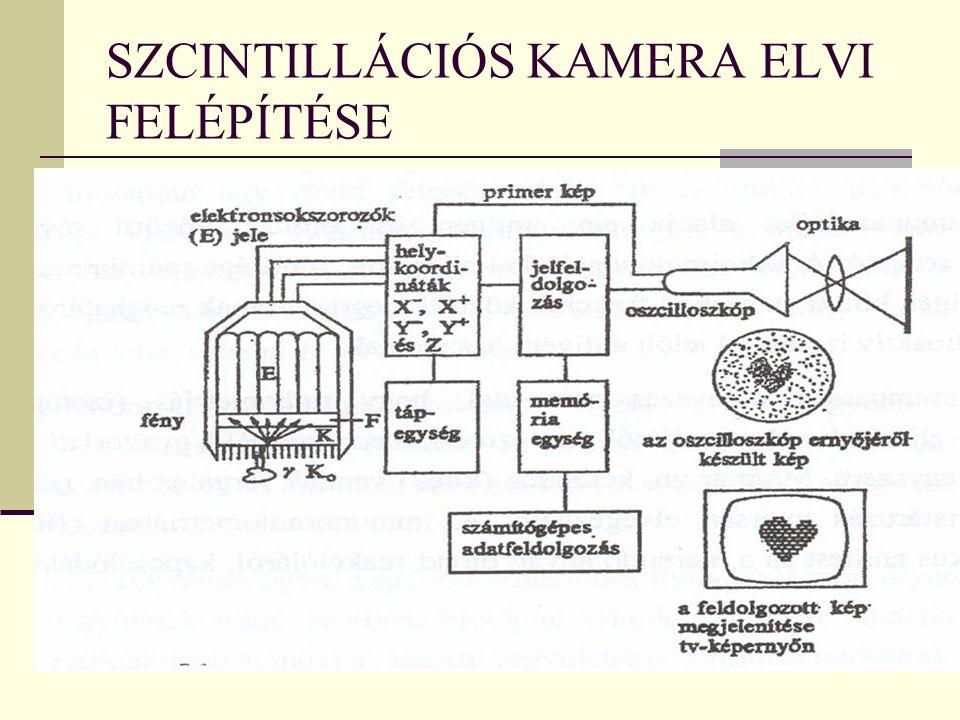 SZCINTILLÁCIÓS KAMERA ELVI FELÉPÍTÉSE