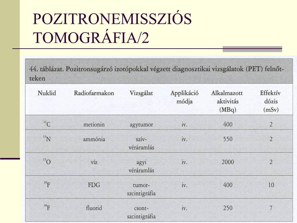 POZITRONEMISSZIÓS TOMOGRÁFIA/2