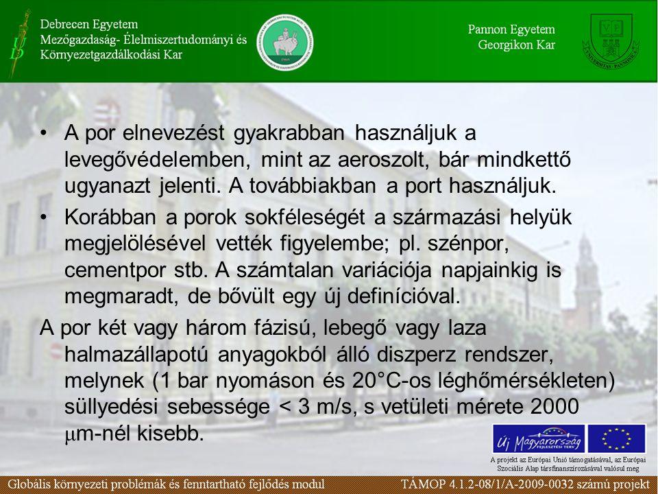 A por hatása a környezetre II. (szilikózis, növények, állatok) 45. lecke