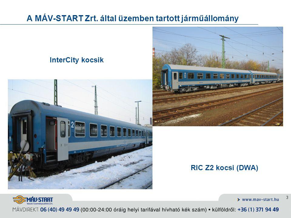 4 A járműfejlesztés irányai Elővárosi közlekedés fejlesztése: ingavonatok korszerűsítése (befejeződik), motorvonatok beszerzése (FLIRT, TALENT, DESIRO) Regionális járműfejlesztés: Bz ikermotorkocsi kialakítása Távolsági forgalom fejlesztése: személykocsi-felújítás 3.
