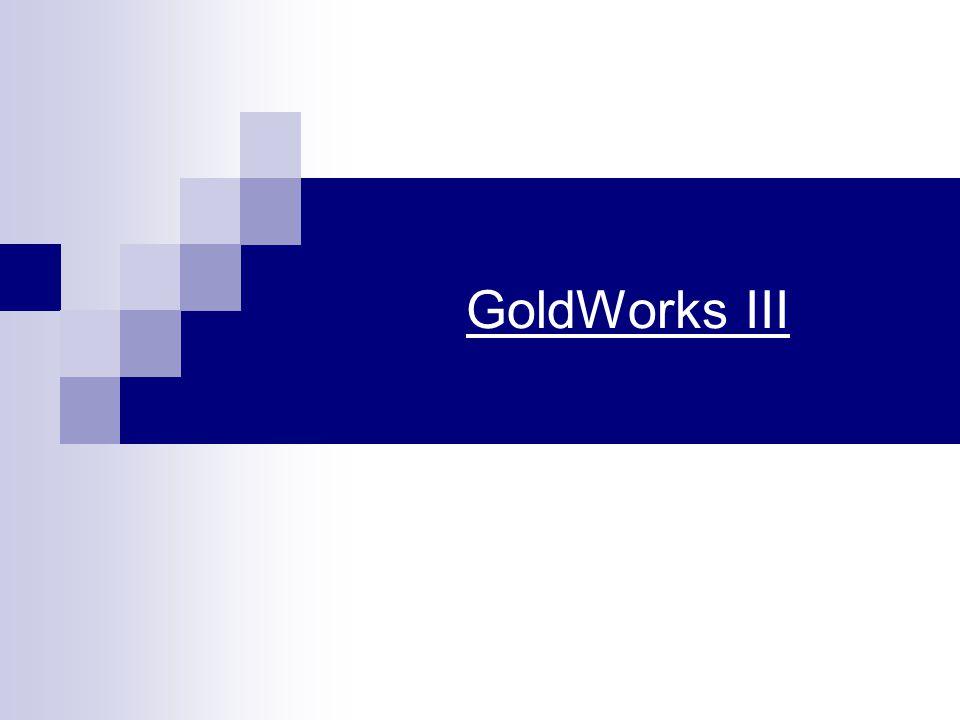 GoldWorks III Tudásbázis alapú hibrid szakértői rsz.