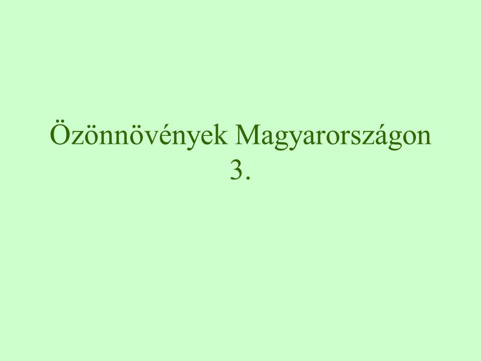 Özönnövények Magyarországon 3.