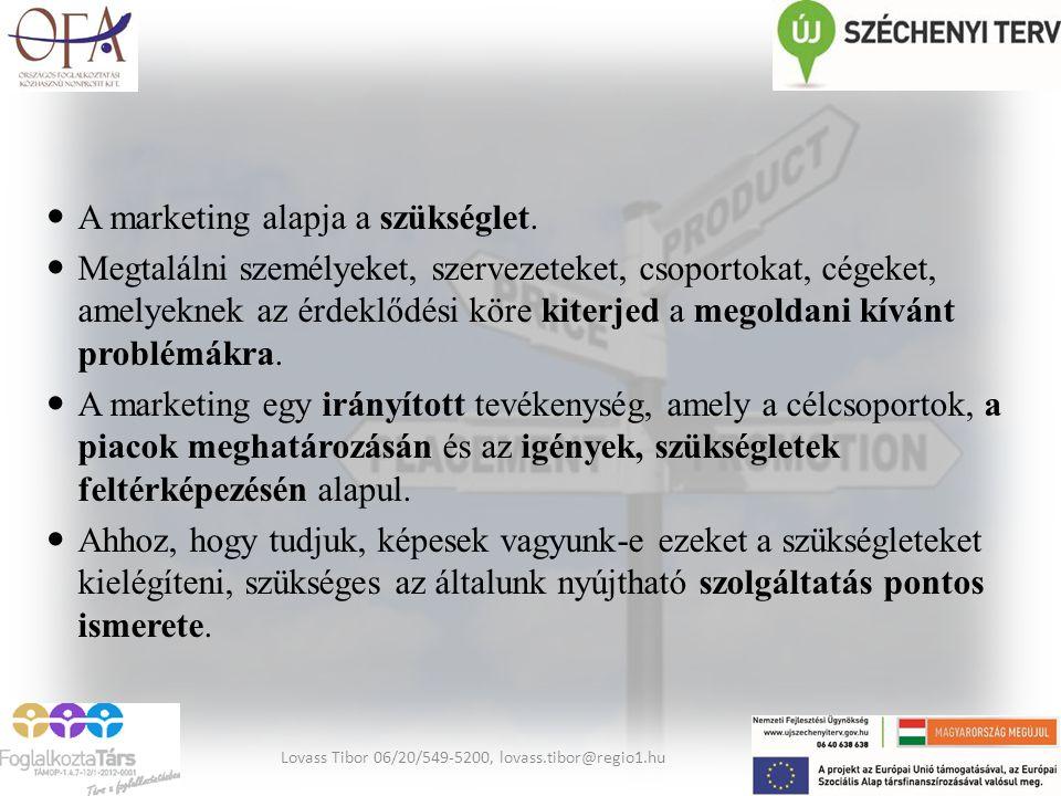 Szolgáltatásmarketing A szolgáltatások jellemzői: A termékeket készítik, a szolgáltatásokat nyújtják.