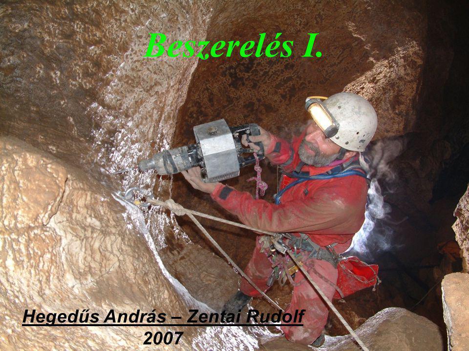 """A beszerelés folyamata hogyan szerelünk be kinittelt (""""kiépített ) barlangot, pl az Alsó-hegyi zsombolyok hogyan szerelünk be ismeretlen, kiépítetlen barlangot nitt helyének kiválasztása"""